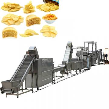 Automatic Wave Potato Chips Shaping Frying Potato Fries Making Machine